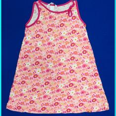 DE FIRMA _ Rochie / rochita de vara, bumbac, H&M _ fetite | 5 - 6 ani | 116 cm, Culoare: Roz