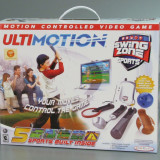 Jakks Pacific Ultimotion Swing Zone Sports Motion Controller Video Game, Sporturi, Multiplayer
