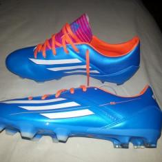 Ghete fotbal Adidas, 41 1/3, Albastru, Barbati - Ghete Adidas Samba f10