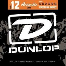 Corzi chitara acustica Dunlop Phosphor Bronze Light 12-54