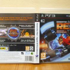 Generator Rex: Agent of Providence (PS3 ) ( ALVio) + sute de alte Jocuri PS3 Activision (VAND / SCHIMB), Actiune, 12+