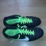 Nike Tiempo Flight SG barbati - Ghete fotbal Nike, Marime: 44, Negru