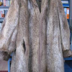 Haina din blana de NUTRIE - la un pret avantajos - Palton dama, Marime: 48, Culoare: Din imagine