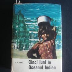 E. A. PORA - CINCI LUNI IN OCEANUL INDIAN {1966} - Carte de calatorie