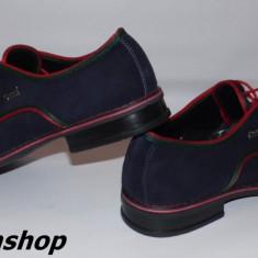 Pantofi barbati Gucci, Piele intoarsa - Pantofi GUCCI - 100% Piele Intoarsa Naturala - Model NOU de Sezon !!!