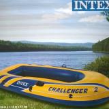Barca Pescuit - Vand barca INTEX 2 persoane, 3 camere de aer, dimensiuni 2, 36x1, 14x0, 41...noua, neumflata niciodata...pret 150 ron..