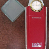 Swatch Irony Don Felipe YGG703 - Ceas barbatesc Swatch, Quartz, Piele, Analog, 1970 - 1999