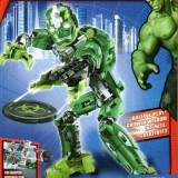 Erou ROBOT HULK tip lego, jucarie constructiva, super heroes 8903, 65 PIESE - Jocuri Seturi constructie