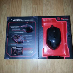 Mouse gaming Thermaltake Tt eSPORTS Theron, Nou, La cutie, Tzipla ..., USB, Laser, Peste 2000