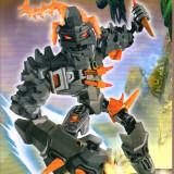 Robot BRUIZER tip lego, soldatul stelelor, jucarie constructiva, DECOOL 10302 - Jocuri Seturi constructie