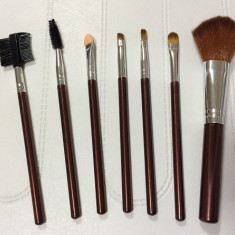 Trusa 7 Pensule Make-up Profesionale High Quality - Pensula make-up