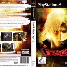 Joc original Devil May Cry 2 pentru consola Sony Playstation 2 PS2 - Jocuri PS2 Capcom, Actiune, Toate varstele, Single player