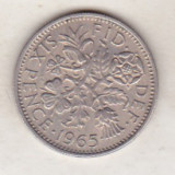 Bnk mnd marea britanie 6 pence 1965, Europa
