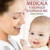 """Carte Pediatrie - Enciclopedia medicala a sugarului si copilului mic. Ghid ilustrat - boli, cauze, simptome si tratamente """" - Peter Abrahams -"""