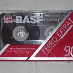 Casetofon - Vand caseta BASF FERRO EXTRA I 90Min sigilata