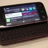 Vand/schimb nokia n97 mini 8 gb - Telefon mobil Nokia N97 Mini, Negru, Neblocat
