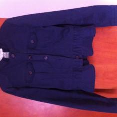 Sacou Pepe Jeans - Sacou dama Pepe Jeans, Marime: 38, Culoare: Albastru, Albastru, Bumbac