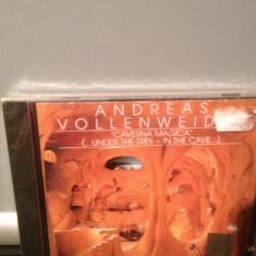 ANDREAS VOLLENWEIDER - CAVERNA MAGICA (1983/1996/CBS REC/USA) - cd nou/sigilat - Muzica Rock Columbia