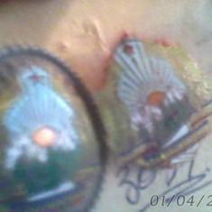 Lot 2 insigne militare romane stare buna - Insigna