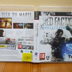 Red Faction Armageddon (PS3) (ALVio) + sute de alte Jocuri PS3 Thq ( vand schimb ), Actiune, 18+