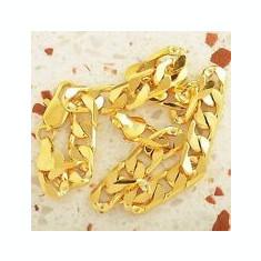 Bratara placate cu aur, Barbati - BRATARA BARBATI FEMEI UNISEX AUR FILAT 14 K MODEL ZALE