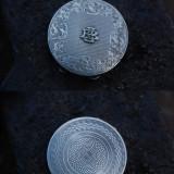 Pudriera argint, Cutie