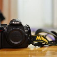 Nikon D5000 body cu 2 baterii - DSLR Olympus, Body (doar corp), 12 Mpx, HD
