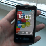 HTC HD mini android 2.3.7 - Telefon HTC, Negru, 4GB, Neblocat, Single core, 384 MB