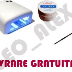 Lampa uv unghii - Lampa unghii false gel *PROMOTIE*