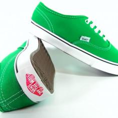 Tenesi Vans verde - Tenisi barbati