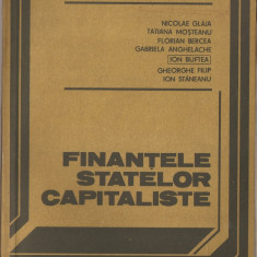 Carte Economie - N. GLAJA - FINANTELE STATELOR COMUNISTE { 1982, 196 p. } + S. DUMITRESCU - ECONOMIE MONDIALA { 1979, 302 p. }