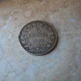 Lot 1. 5 francs (franci) 1844 Louis Phillippe Franta, argint