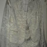 Costum de dama pentru ocazii - Costum dama, Marime: 40, Culoare: Bej, Costum cu fusta, Bej