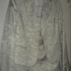 Costum dama, Costum cu fusta, Bej - Costum de dama pentru ocazii