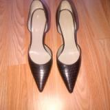 Pantofi MAX MARA originali masura 38, noi! 525 euro in magazin! - Sandale dama, Culoare: Maro