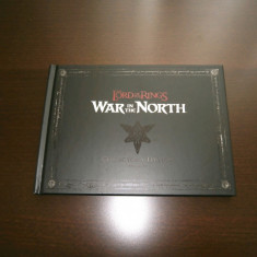 Artbook + coloana sonora - Lord of the Rings : War in the North, de colectie