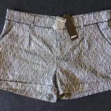 Pantaloni scurti Zoul, culoare Black Metallic; marime 42: 90 cm talie etc.