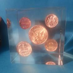 America 1964 CUB ornamental 5 monede 1 de ARGINT, America de Nord, An: 1967