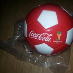 MINGE COCA COLA CAMPIONATUL MONDIAL DE FOTBAL BRAZILIA 2014, LA CEL MAI MIC PRET - Minge fotbal, Personalizat
