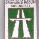 Insigna aniversara 1952-1972 Directia Regionala Drumuri si Poduri Bucuresti