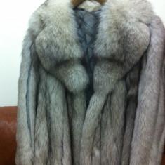 Haine dama - Vand haine de blana vulpe argintie
