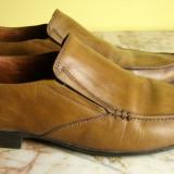 Pantofi barbati marca Alberto Torresi piele marimea 42 locatie raft ( 36 / 8 )