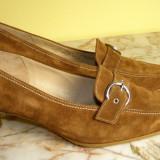 Pantofi dama marca Gabor piele marimea 6 ( echivalent 39.5 european ) locatie raft ( 10 / 2 )