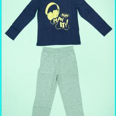 NOI _ Pijamale subtiri, dragute, din bumbac, TEX _ baieti | 5 - 6 ani, Culoare: Bleumarin