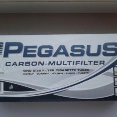 Tuburi tigari Pegasus cu Carbon 10 x 200 - Foite tigari