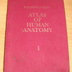 Atlas de anatomie umana(partea I, limba engleza)