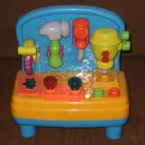 Scule si unelte, Plastic, Unisex - Banc de lucru cu unelte de jucarie