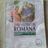 Manual Clasa a X-a, Romana - Manual de limba romana, clasa IX