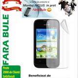 Folie de protectie Transparenta Huawei Y210 MONTAJ iNCLUS in Pret