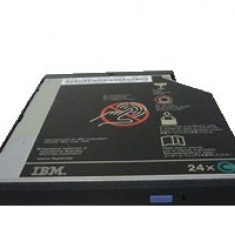 UNITATE OPTICA LAPTOP IBM FRU 27L3687 SI 05K9266 IDE FUNCTIONALE!, CD-ROM
